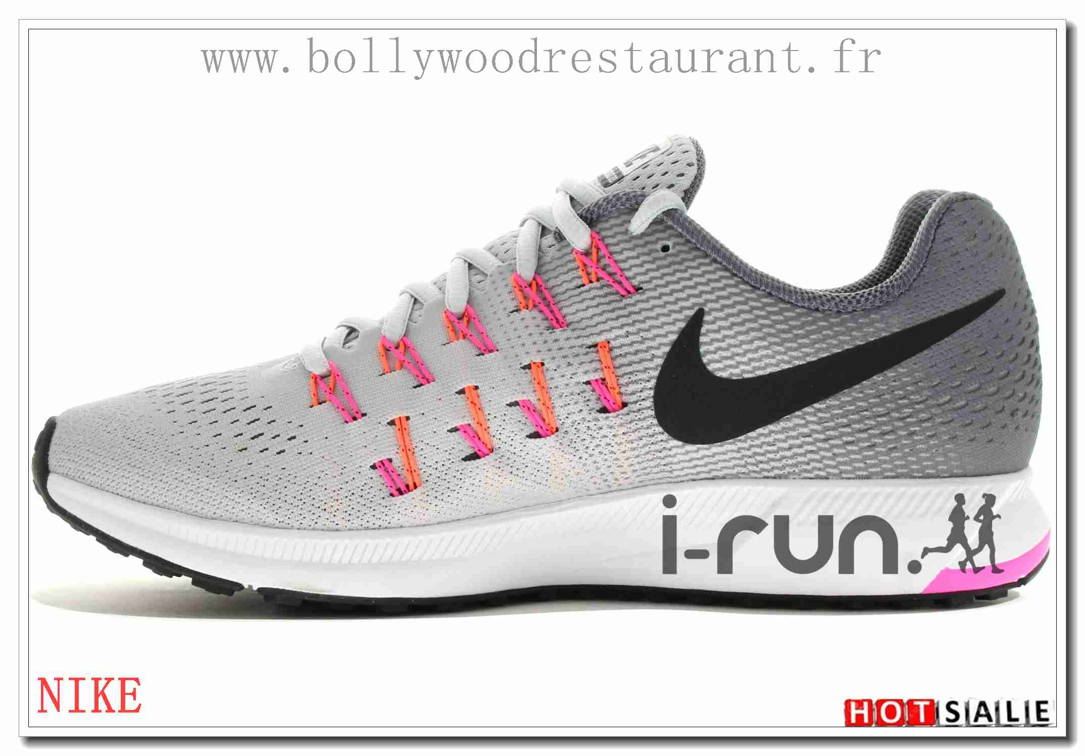 detailed look f6d89 dc2ba CA3230 La Qualité 2018 Nouveau style Nike Air Zoom Pegasus 33 - Femme  Chaussures - Soldes