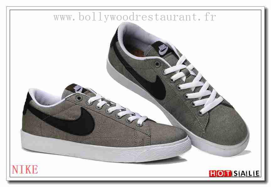 huge selection of 884ae 8d972 UU1691 Intense 2018 Nouveau style Nike Blazer Basse - Homme Chaussures -  Soldes Pas Cher - H.K.Y.454 - Taille  40~44