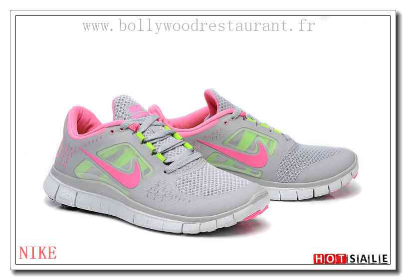 SD4459 Urbain 2018 Nouveau style Nike Free Run 3 - Femme Chaussures -  Soldes Pas Cher - H.K.Y.&885 - Taille : 36~39