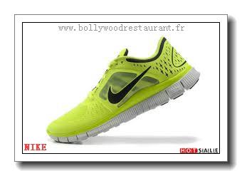 online retailer 7e435 c3ca7 XV8559 En Ligne 2018 Nouveau style Nike Free Run 3 - Homme Chaussures - Soldes  Pas