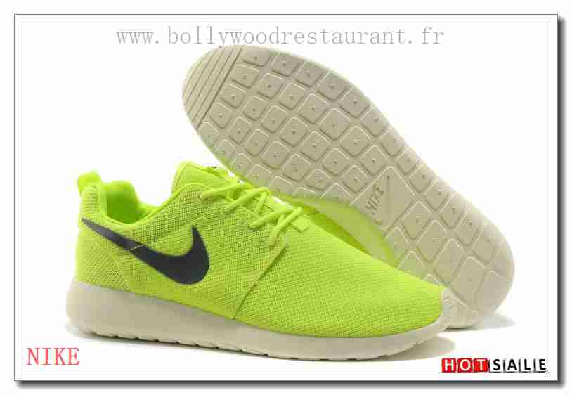 best service b1740 a3c86 SN1102 Confortable Cool 2018 Nouveau style Nike Roshe Run - Homme  Chaussures - Soldes Pas Cher