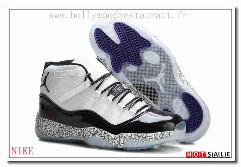 best website 666b3 d7ceb WA4754 Les meilleures marques 2018 Homme s Air Jordan 11 blanc noir Bleu  Mode dernier