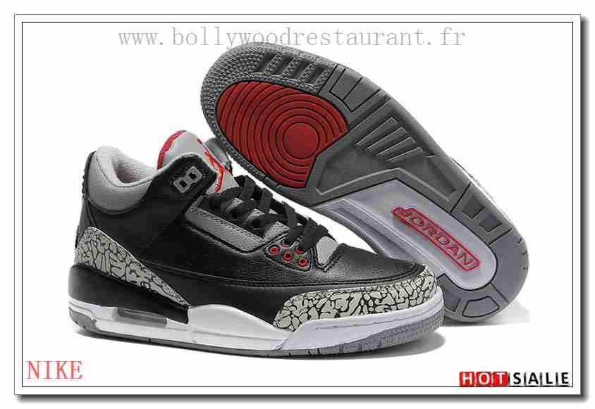 TJ5018 La Fourrure 2018 Femm's Air Jordan 3 blanc/noir/Bleu Soldes Pas Cher  - F.R.A.N.C.E928 - NIKE AIR JORDAN