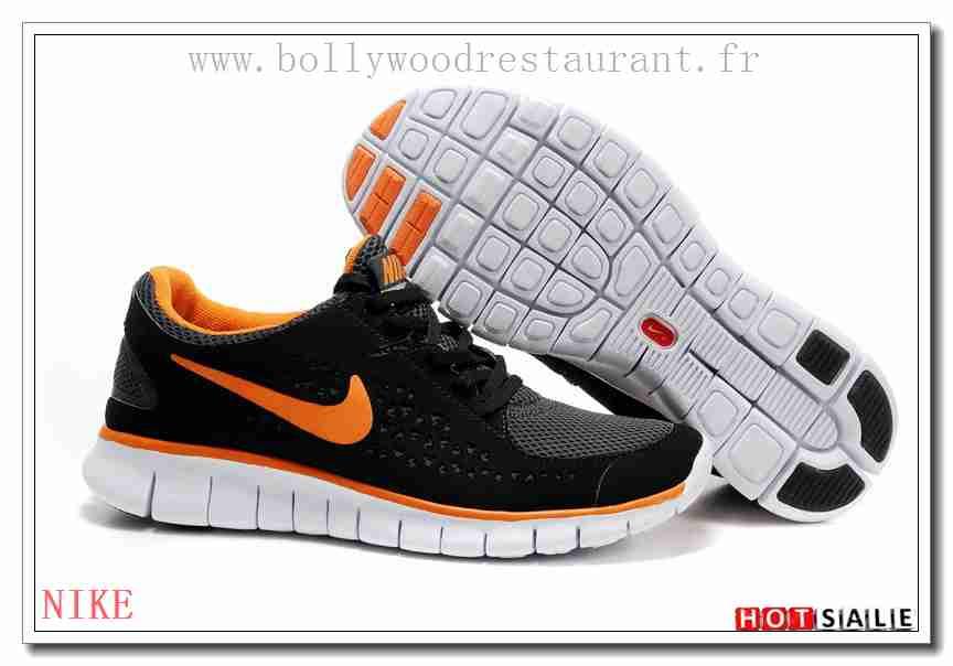 outlet store sale 04b70 cf7b9 RS2552 De Haute Qualité Nike Free Run + Lightweight Noir Orange gris 2018  Nouveau style Soldes