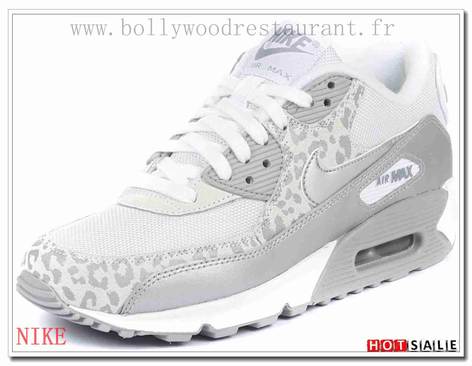YI8969 Loisirs 2018 Nouveau style Nike Air Max 90 - Femme Chaussures - Blanche Promotions Vente - H.K.Y.&621 - Taille : 36~39