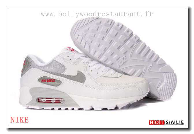 huge selection of bf416 ead95 NG0180 hot Mall quality imported 2018 Nouveau style Nike Air Max 90 - Femme  Chaussures - Blanche Promotions Vente - H.K.Y. 905 - Taille   36~39