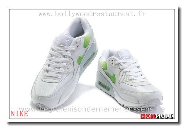 sports shoes b84da d3be7 ZZ8875 Meilleur Prix 2018 Nouveau style Nike Air Max 90 - Femme Chaussures  - Blanche Promotions Vente - H.K.Y. 022 - Taille   36~39