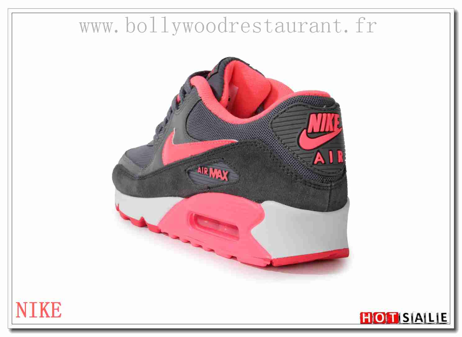 competitive price 232f3 2aef3 ZU4922 Respirant 2018 Nouveau style Nike Air Max 90 - Femme Chaussures -  Promotions Vente -