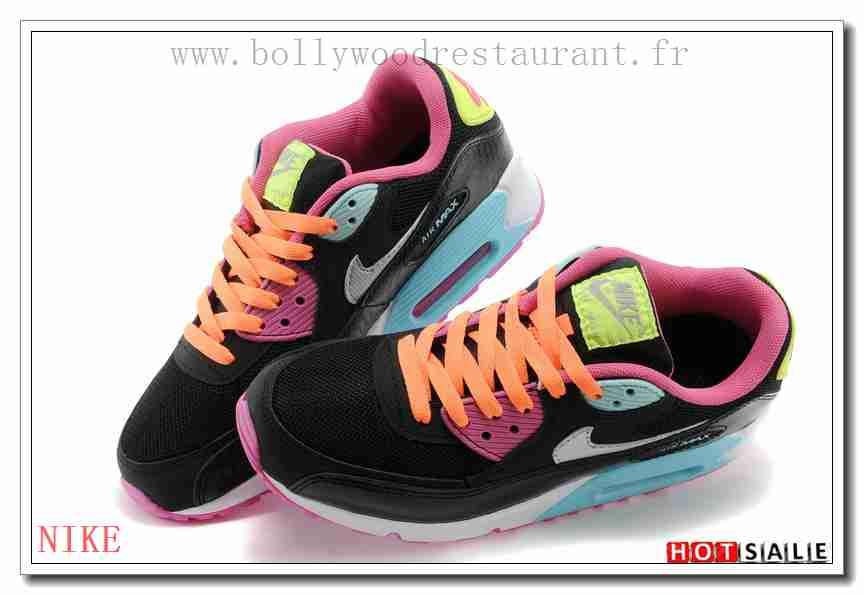 online store 91389 29b1b UB6631 élégant 2018 Nouveau style Nike Air Max 90 - Femme Chaussures - Promotions  Vente - H.K.Y. 553 - Taille   36~39