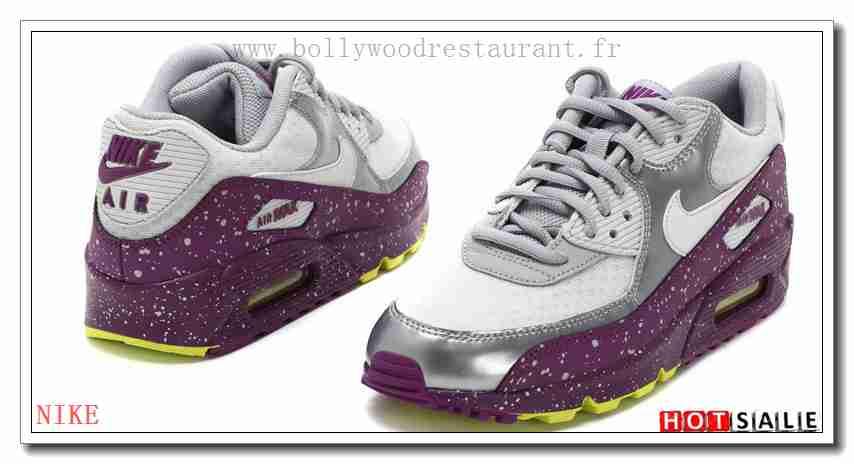 UC0822 La Mode 2018 Nouveau style Nike Air Max 90 Femme Chaussures