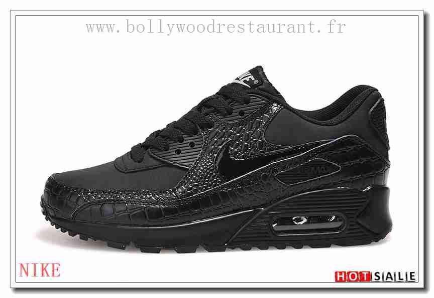 QS4892 coussin léger 2018 Nouveau style Nike Air Max 90 Femme