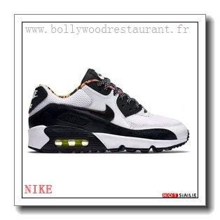 HI0587 L'amour 2018 Nouveau style Nike Air Max 90 - Femme Chaussures - Noir Promotions Vente - H.K.Y.&707 - Taille : 36~39