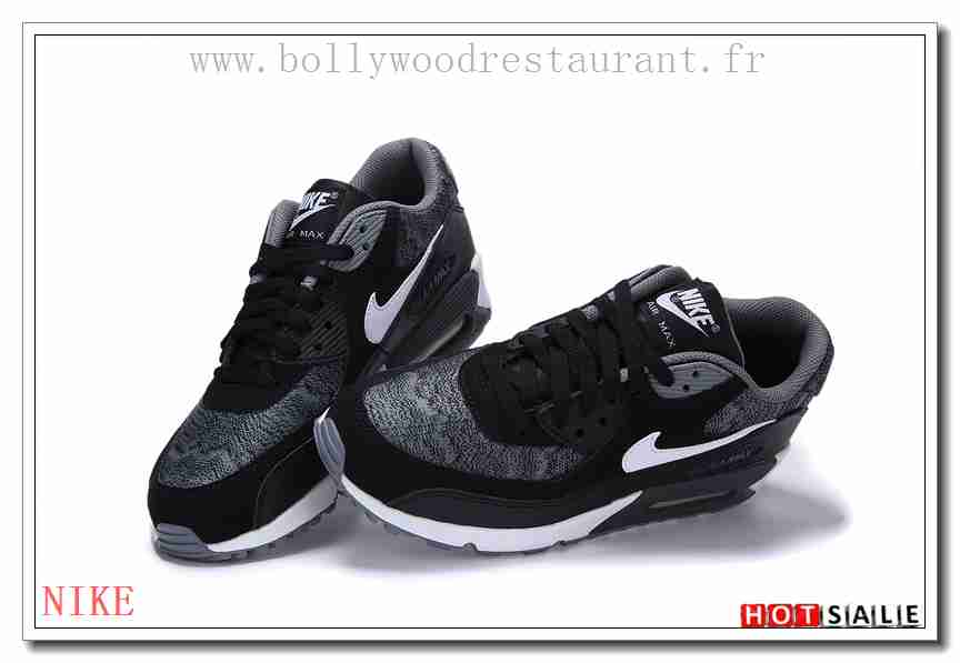 wholesale dealer 9d1aa cf272 ... switzerland ac5595 version classique 2018 nouveau style nike air max 90  femme chaussures noir promotions vente