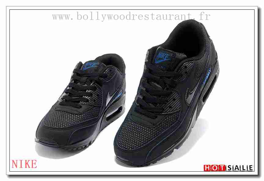 info for 4d425 ae66f NN4196 Imperméable 2018 Nouveau style Nike Air Max 90 - Femme Chaussures -  Noir Promotions Vente - H.K.Y. 864 - Taille   36~39