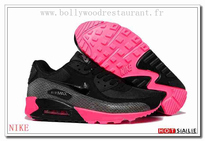 san francisco 21904 d233e RH4339 Nouvelle Collection 2018 Nouveau style Nike Air Max 90 - Femme  Chaussures - Noir Rose Promotions Vente - H.K.Y. 331 - Taille   36~39