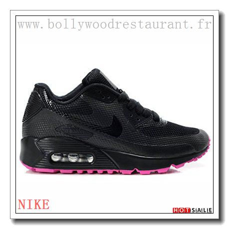 meet fe010 36dc6 BV8906 élégant 2018 Nouveau style Nike Air Max 90 - Femme Chaussures - Noir Rose  Promotions Vente - H.K.Y. 030 - Taille   36~39