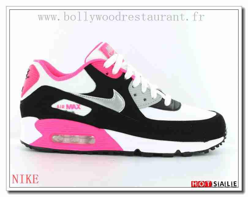 low cost 7f135 1daeb JZ7718 L introduction De Nouvelles 2018 Nouveau style Nike Air Max 90 - Femme  Chaussures - Noir Rose Promotions Vente - H.K.Y. 871 - Taille   36~39