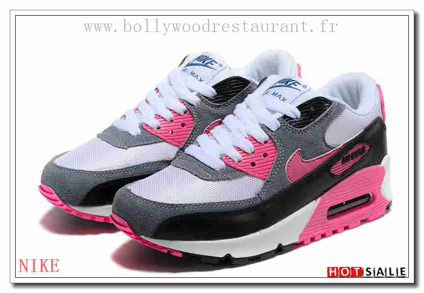 official photos f0028 94ec2 HA0346 Confortable Cool 2018 Nouveau style Nike Air Max 90 - Femme  Chaussures - Rose Promotions