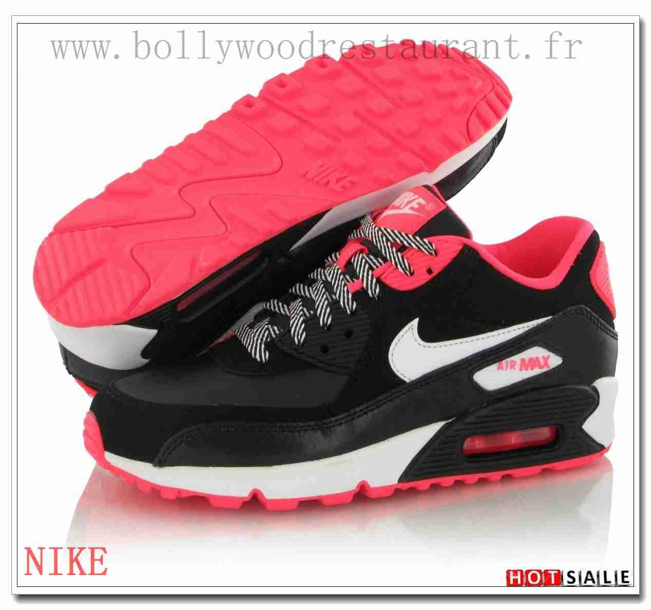 VE3598 Meilleur Prix 2018 Nouveau style Nike Air Max 90 - Femme Chaussures  - Rose Promotions