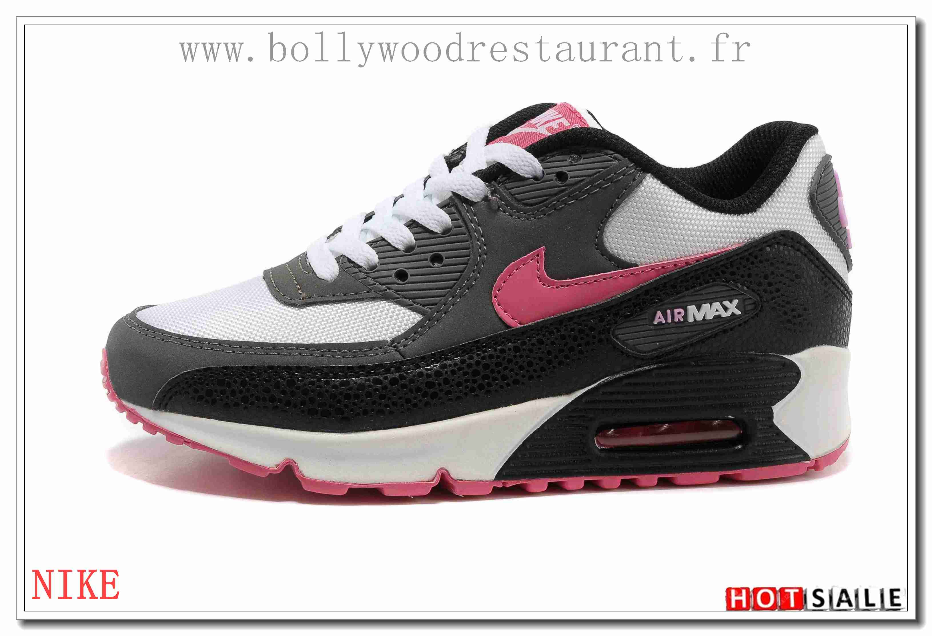 quality design 3b440 ce614 LZ4477 Moins Cher 2018 Nouveau style Nike Air Max 90 - Femme Chaussures -  Rose Promotions