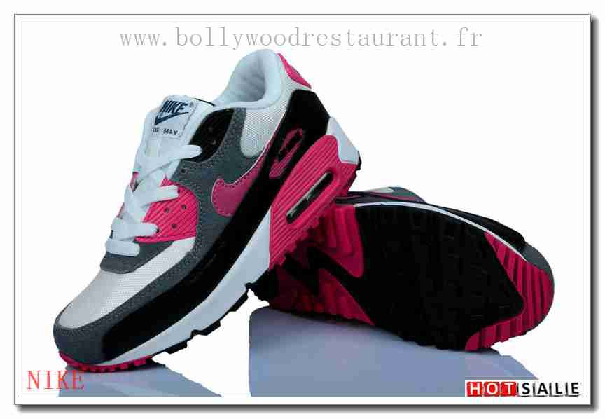 differently 9f720 f3e65 XA9809 Plus Tard 2018 Nouveau style Nike Air Max 90 - Femme Chaussures - Rose  Promotions Vente - H.K.Y. 333 - Taille   36~39
