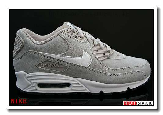buy popular bb46b bd73c YB4953 Urbain 2018 Nouveau style Nike Air Max 90 - Homme Chaussures - Grise Promotions  Vente