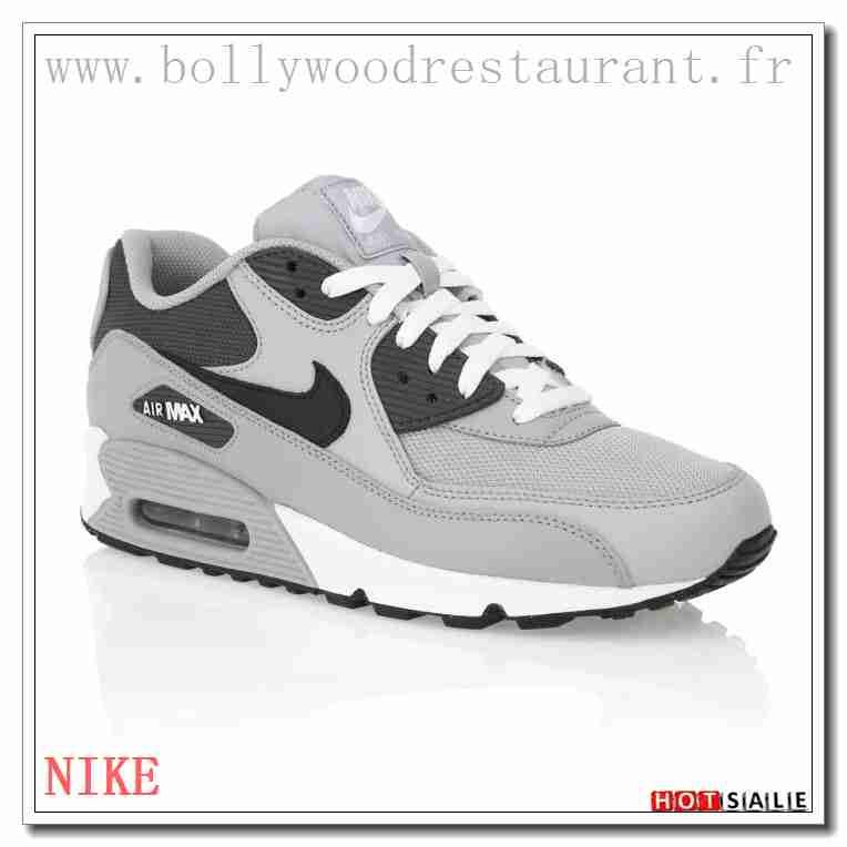 new concept fa4c7 99725 FH1447 Aux Sports 2018 Nouveau style Nike Air Max 90 - Homme Chaussures - Grise  Promotions Vente - H.K.Y. 638 - Taille   40~44