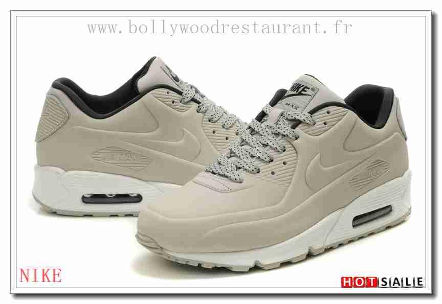 newest 5c0dc bce2c CV6665 Plus Tard 2018 Nouveau style Nike Air Max 90 - Homme Chaussures - Grise  Promotions Vente - H.K.Y. 193 - Taille   40~44
