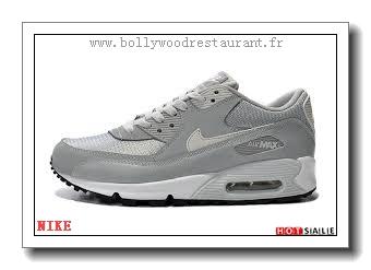 new product bcb4b 61ec5 OW6932 La Qualité 2018 Nouveau style Nike Air Max 90 - Homme Chaussures - Grise  Promotions Vente - H.K.Y. 475 - Taille   40~44