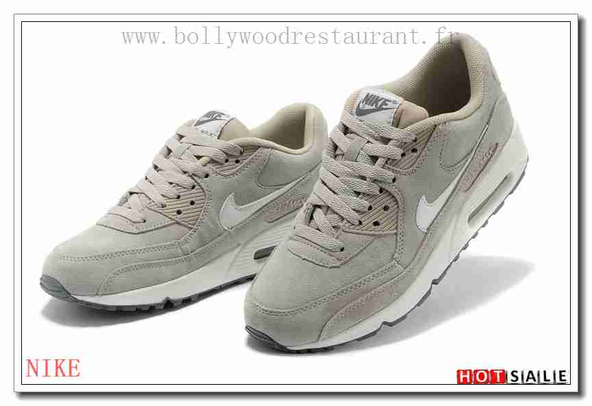 lowest price 2db92 1e942 UR7754 Simple 2018 Nouveau style Nike Air Max 90 - Homme Chaussures - Grise  Promotions Vente
