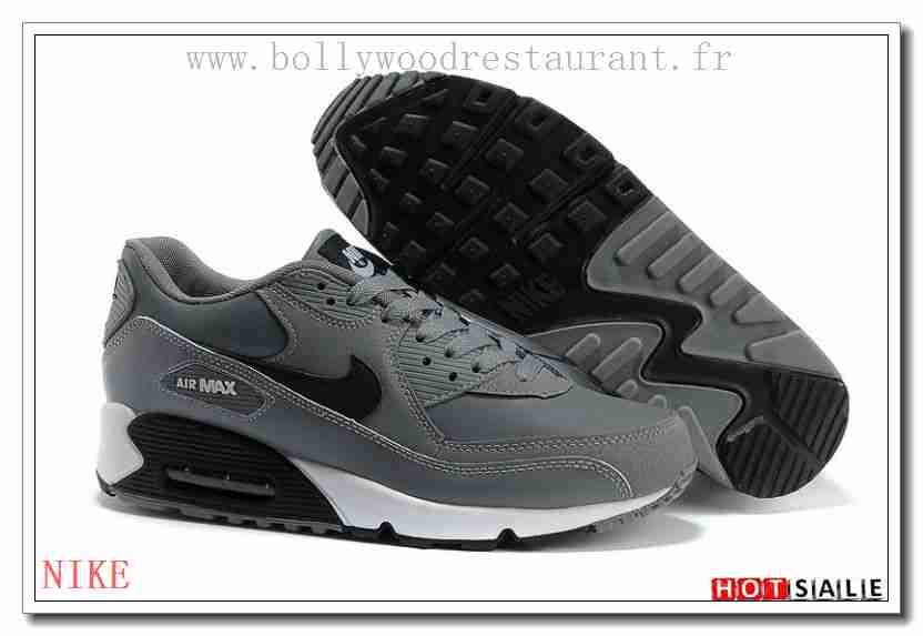 online retailer 01afe bcced PZ3653 Nouveau 2018 Nouveau style Nike Air Max 90 - Homme Chaussures - Grise  Promotions Vente - H.K.Y. 212 - Taille   40~44