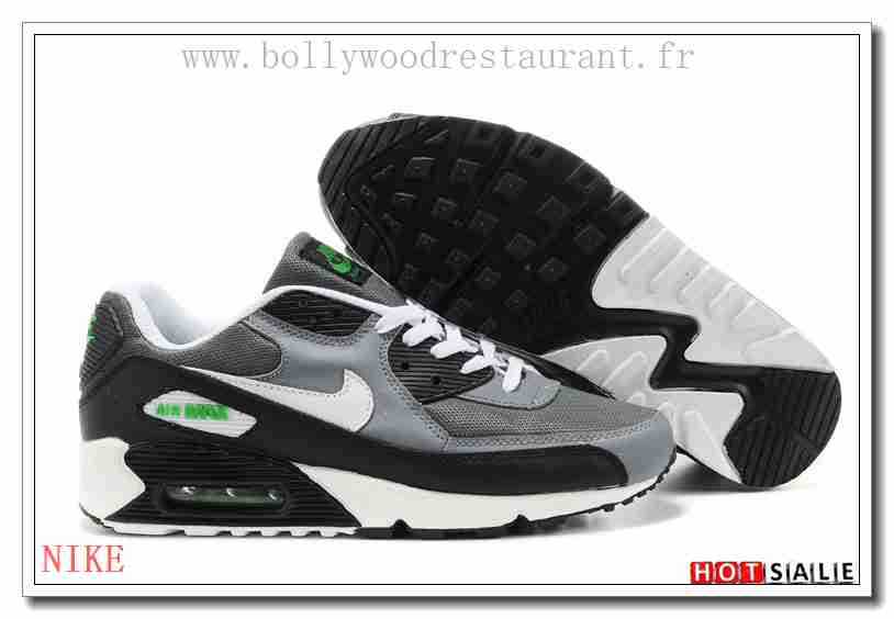 reputable site 4025e 60ffc QN7228 chaussures 2018 Nouveau style Nike Air Max 90 - Homme Chaussures -  Grise Promotions Vente - H.K.Y. 280 - Taille   40~44