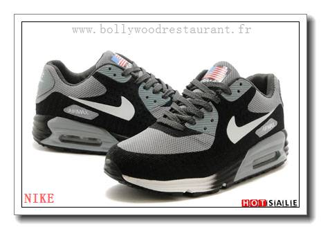 free shipping b6424 01a45 TY9910 Qualité 100% Garanti 2018 Nouveau style Nike Air Max 90 - Homme  Chaussures - Grise Promotions Vente - H.K.Y. 103 - Taille   40~44