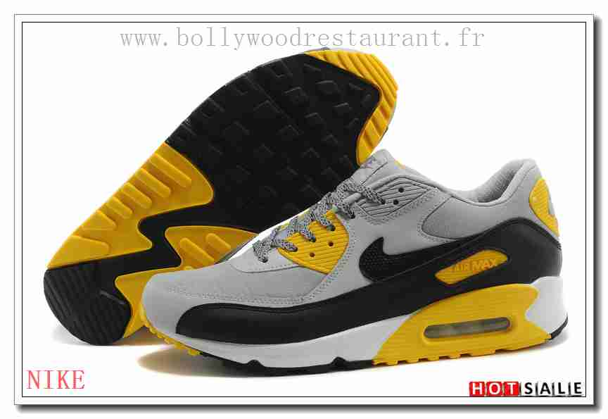 huge selection of 237dd be8d8 BN7595 Spécial 2018 Nouveau style Nike Air Max 90 - Homme Chaussures -  Grise Promotions Vente - H.K.Y. 871 - Taille   40~44