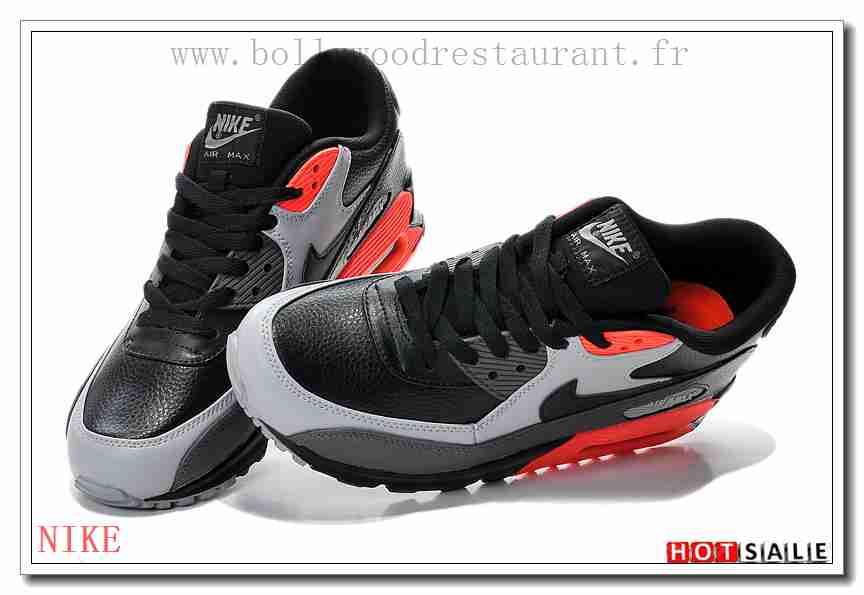 huge discount 5dde9 b451a QP1065 aspect premium 2018 Nouveau style Nike Air Max 90 - Homme Chaussures  - Promotions Vente - H.K.Y. 680 - Taille   40~44