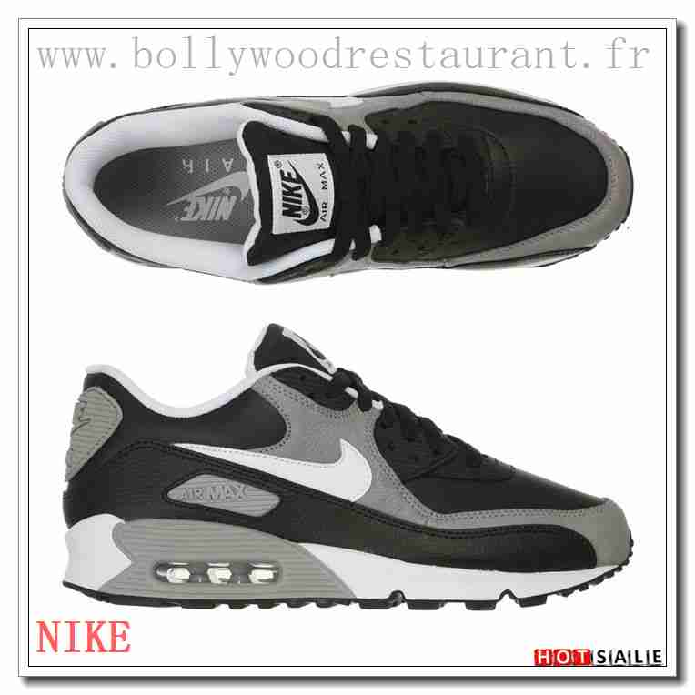 check out 26600 756fd QR2252 Abordable Pas Cher 2018 Nouveau style Nike Air Max 90 - Homme  Chaussures - Promotions