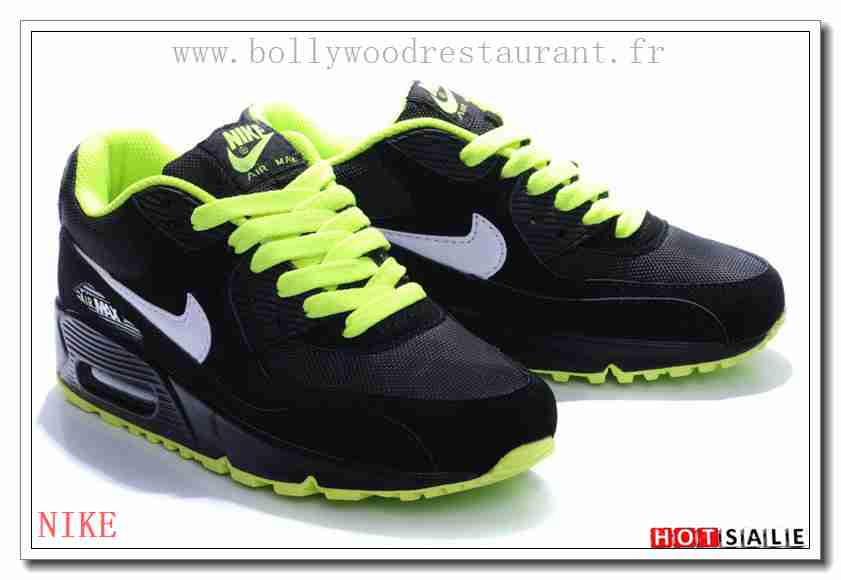 pretty nice b6184 a44bb YB8638 Haute Qualité 2018 Nouveau style Nike Air Max 90 - Homme Chaussures  - Promotions Vente - H.K.Y. 120 - Taille   40~44