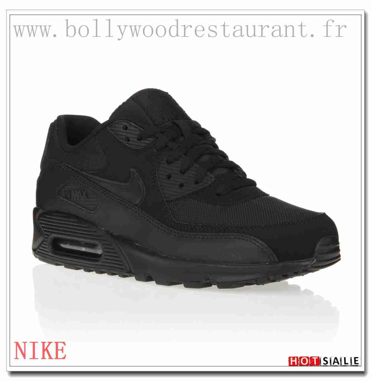 BI8326 Traitement résistant aux taches 2018 Nouveau style Nike Air Max 90 - Homme Chaussures - Noir Promotions Vente - H.K.Y.&222 - Taille : 40~44