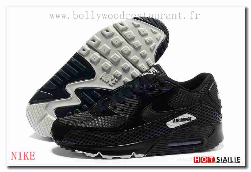 official photos de4ed 3ed55 ... XT1047 Plus Tard 2018 Nouveau style Nike Air Max 90 - Homme Chaussures  - Noir Promotions . ...