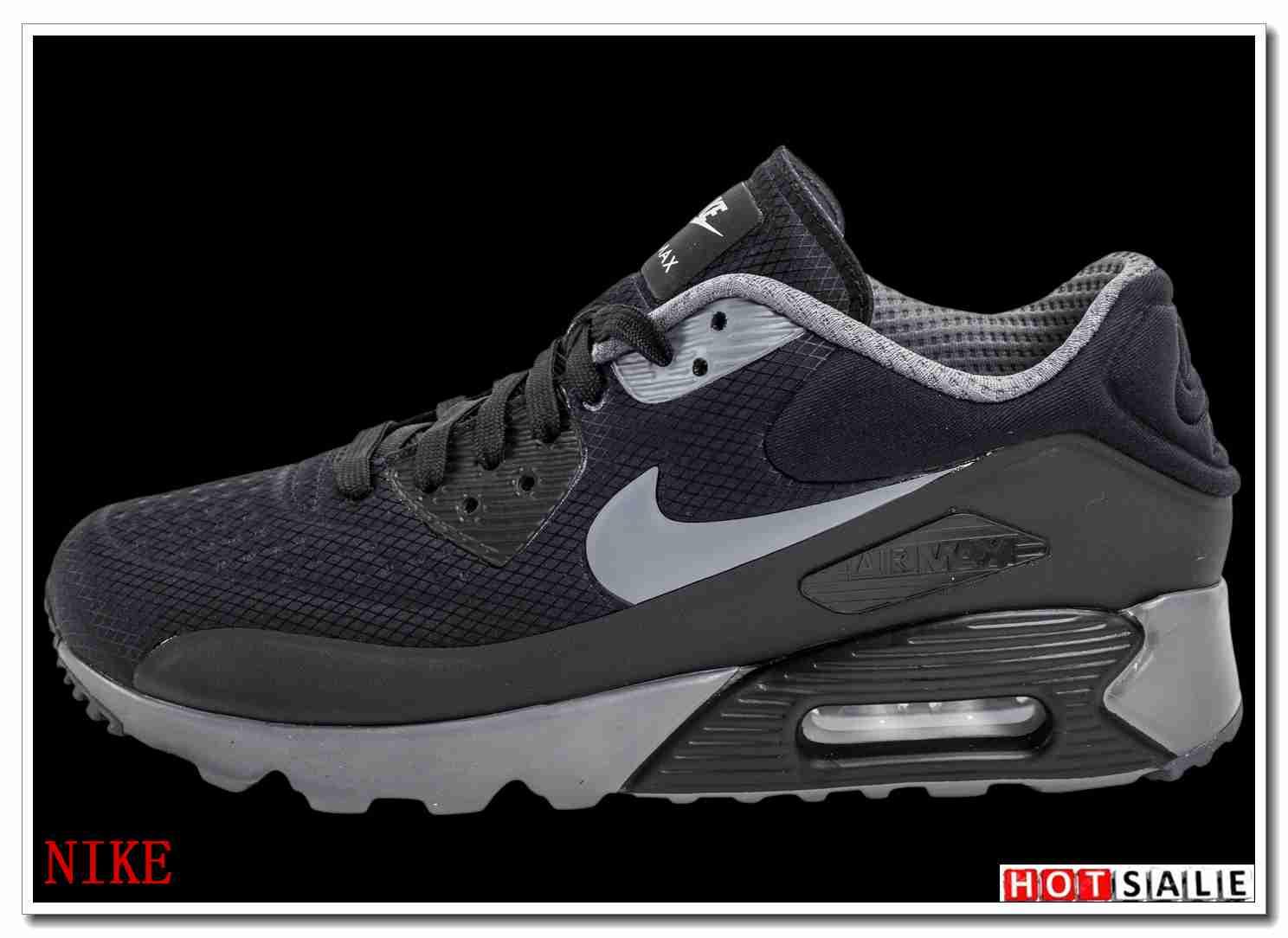 huge discount 1be77 e6fd8 GA2416 De Haute Qualité 2018 Nouveau style Nike Air Max 90 - Homme  Chaussures - Noir Promotions Vente - H.K.Y. 199 - Taille   40~44
