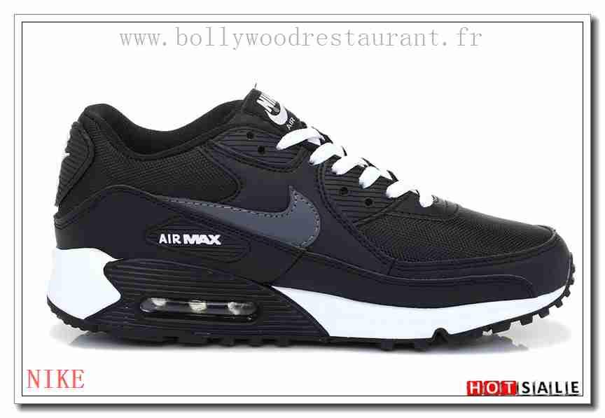 low priced b46b1 8e57f KZ6648 Semelle Synthétique 2018 Nouveau style Nike Air Max 90 - Homme  Chaussures - Noir Promotions Vente - H.K.Y. 347 - Taille   40~44