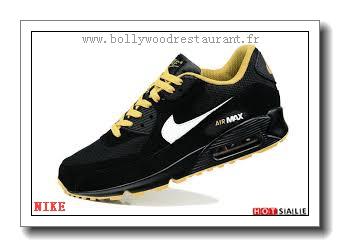 best service 19f6b e7fb2 FC0108 Haute Qualité 2018 Nouveau style Nike Air Max 90 - Homme Chaussures  - Noir Promotions Vente - H.K.Y. 692 - Taille   40~44