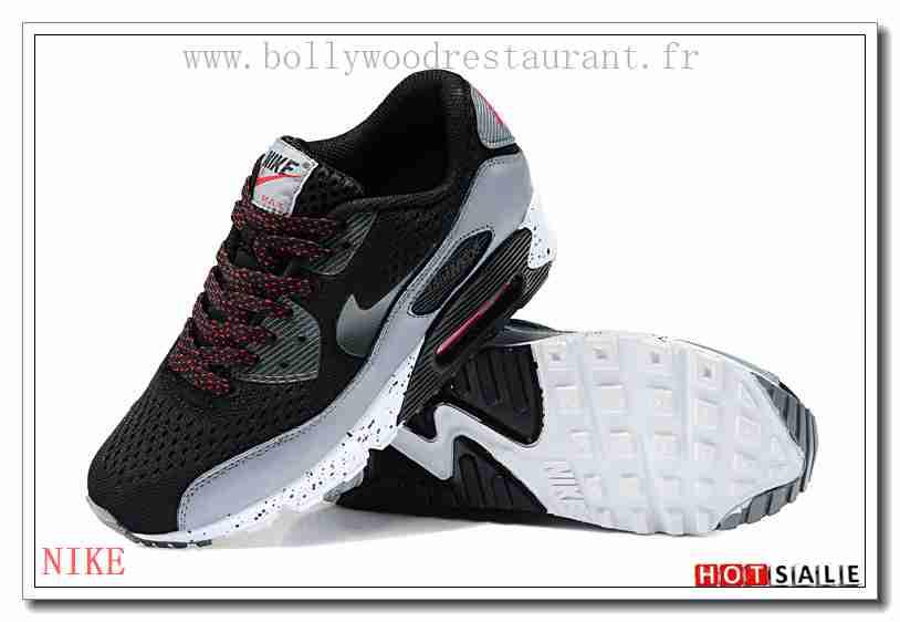 buy popular ab124 689f1 TN2167 Achat Pas Cher Mondiaux 2018 Nouveau style Nike Air Max 90 - Homme  Chaussures - Noir Promotions Vente - H.K.Y. 805 - Taille   40~44