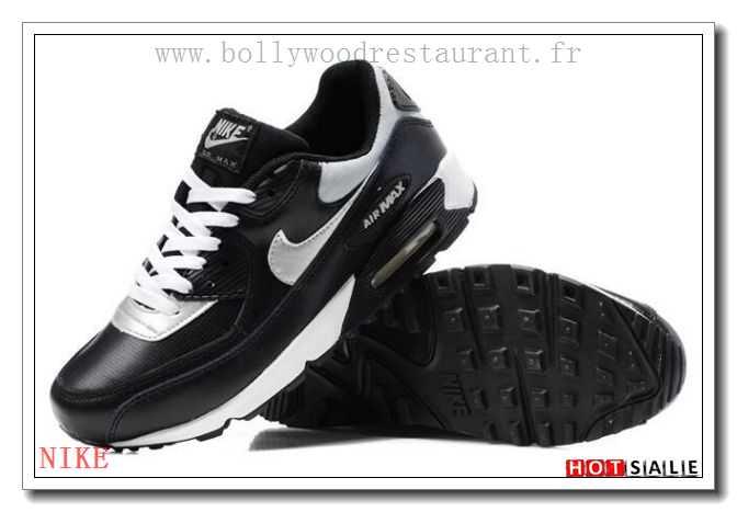 RK9020 Meilleures Ventes 2018 Nouveau style Nike Air Max 90 - Homme  Chaussures - Noir Promotions Vente - H.K.Y.&198 - Taille : 40~44