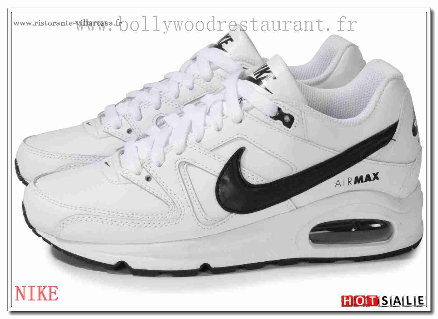 Chaussures Nike Air Max Command blanches Fashion fille OuUeV6JR
