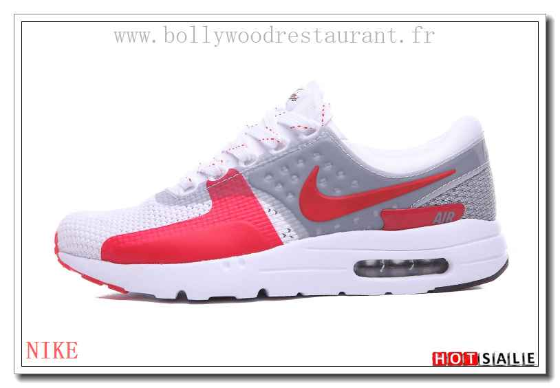 on sale a00ef b2f1c TT2761 Respirant 2018 Nouveau style Nike Air Max Zero - Femme Chaussures -  Promotions Vente -