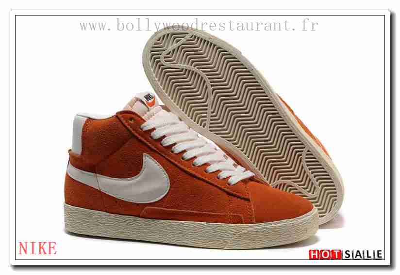 newest 099a9 93275 VN5334 rabais promotionnel Nike Blazer High Vintage Suede Indianrouge blanc 2018  Nouveau style Soldes - F.R.J.888 - Homme s Sneakers