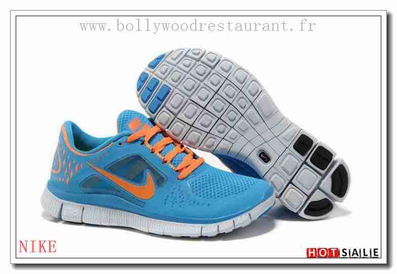 EY7647 Meilleures Ventes Nike Free Run 3 Sky Bleu Coral MediumslateBleu  2018 Nouveau style Soldes -