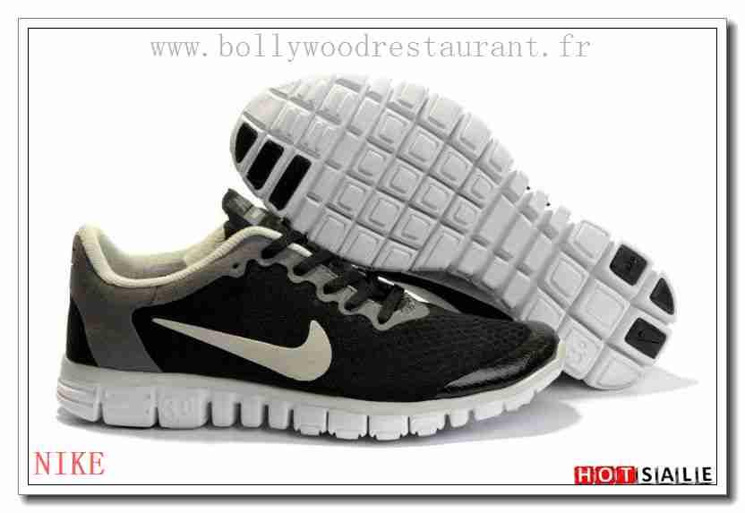 factory authentic 83b21 5e10f PR0748 En Ligne Nike Free Run 30 V2 Lightweight Noir Beige gris 2018  Nouveau style Soldes