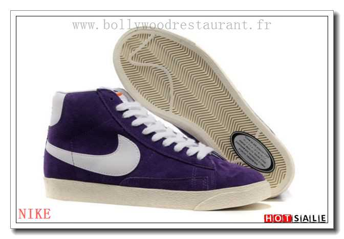huge selection of 4daa3 e8541 OR1818 main douce Nike Blazer High Vintage Suede Indigo blanc 2018 Nouveau  style Soldes - F.R.J.
